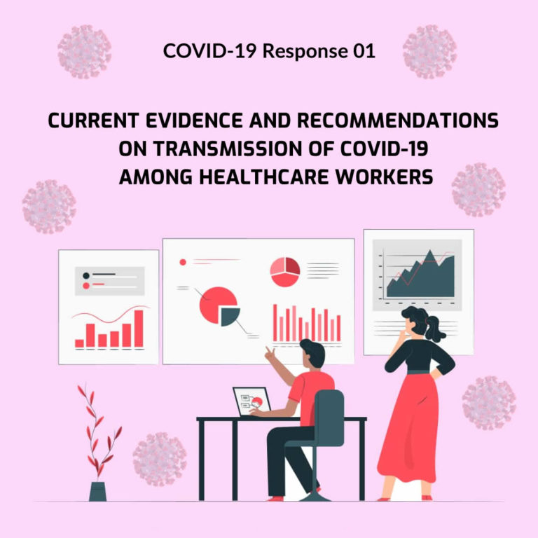 Current Evidence And Recommendations On Transmission Of Covid-19 Among Healthcare Workers