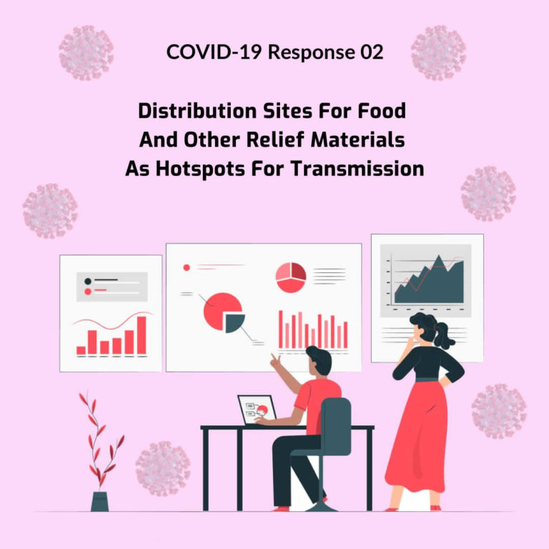 Covid-19 Response 02: Distribution Sites For Food And Other Relief Materials As Hotspots For Transmission